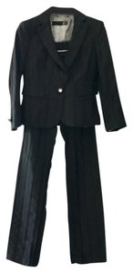 Just Cavalli Single Breasted Black Jacket & Pants Suit Black