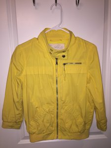 Forever 21 Silver Hardware Comfortable Yellow Jacket