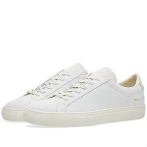 Common Projects Suede Sneakers Achilles White Athletic