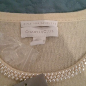 Charter Club Top Ivory
