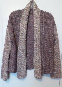 Anthropologie Moth Oversized Knit Jacket Medium Cardigan