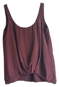 Elizabeth & James Top Burgundy
