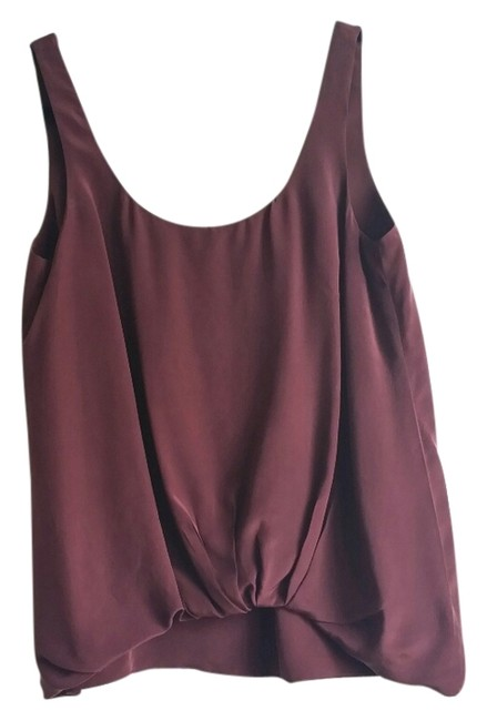Elizabeth and James Top Burgundy