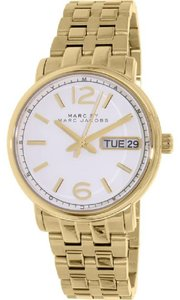 Marc by Marc Jacobs NWT WOMENS MARC by MARC JACOBS (MBM8647) FERGUS WHITE DIAL GOLD WATCH