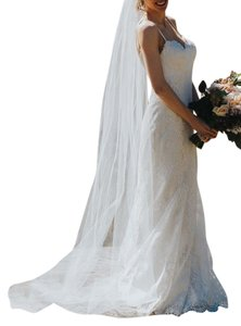 Cathedral Length Tulle Veil - One Layer