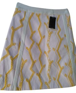 3.1 Phillip Lim Mini Skirt Yellow white