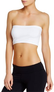 Nikibiki Red Pink Bandeau High Quality Top White
