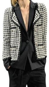 Chanel Houndstooth Cc Most Wanted Unltimate grey multi Jacket