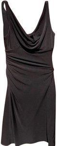 White House | Black Market Comfortable Draped Classic Sparkle Prom Dress