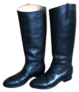 Frye Knee High Women Leather Tall Black Boots