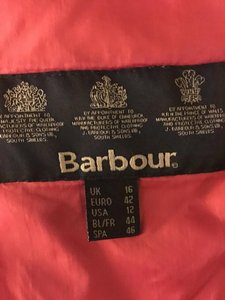 Barbour Red Womens Jean Jacket