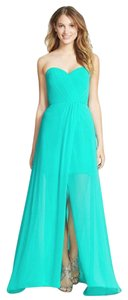 Erin Fetherston Strapless Fitted Chiffon Dress
