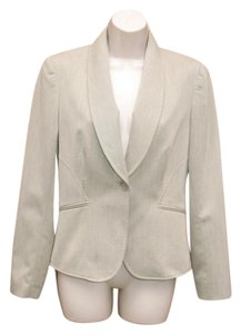 Antonio Melani Office Jacket Suiting Wear To Work Beige Blazer
