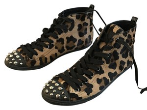Prada Sneakers Leopard print and black Flats