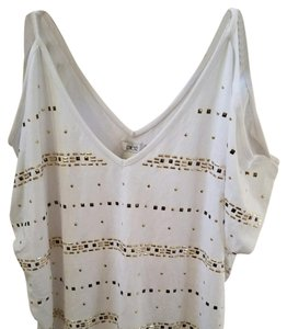 Cache Top White with metallic hardware