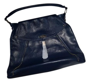 Onna Ehrlich Leather Tote in Navy
