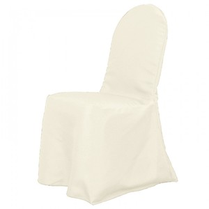 Ivory Banquet Chair Covers