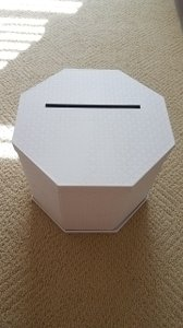 Martha Stewart White Wedding Card Box