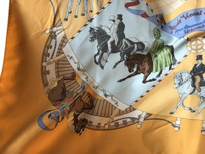 Hermès Hermes Silk Scarf 100% authentic