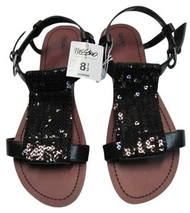 Mossimo Supply Co. Sandals Sequin New black Flats