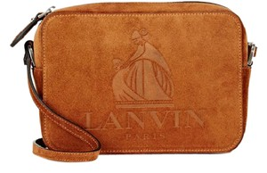 Lanvin Camera Suede Cross Body Bag