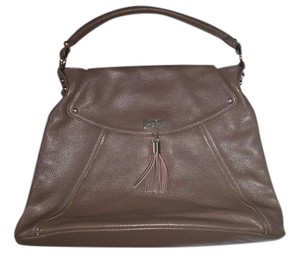 Onna Ehrlich Leather Tote in Cafe Au Lait