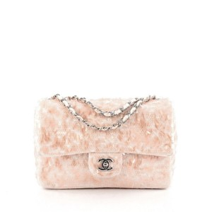 Chanel Sequins Satchel in Pink