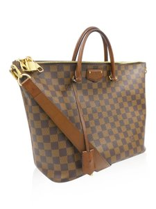 Louis Vuitton Belmont Tote in Brown