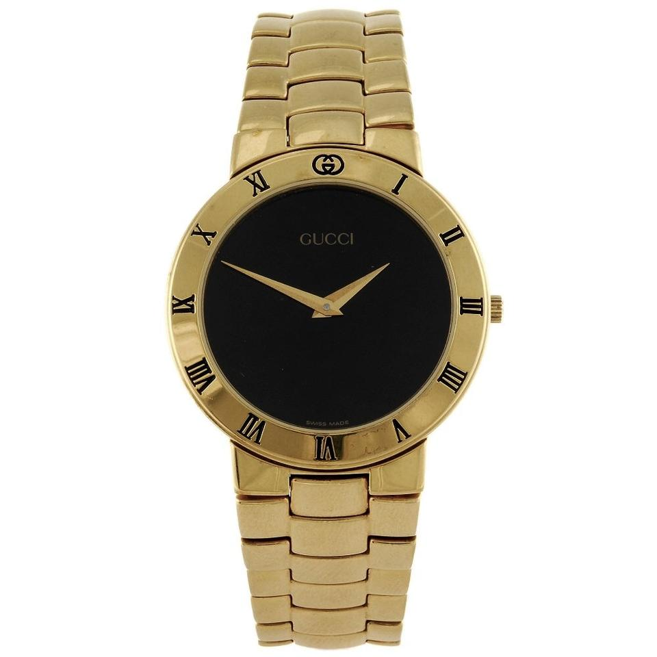 055af8945 Gucci 18k Gold Plated Swiss Watch Image 0 ...