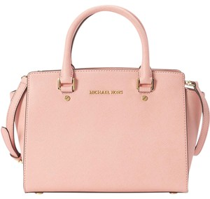 Michael Kors Pink Tote in Pale Pink