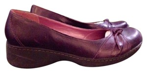 Steve Madden Leather Orchid Comfortable Funky Boho Purple Wedges