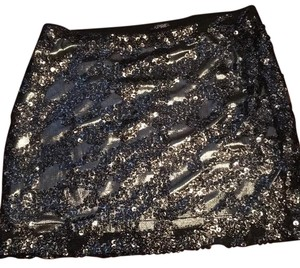 Express Mini Skirt black/silver