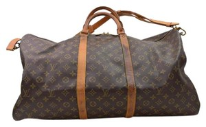 Louis Vuitton Bandouliere 60 Keepall 60 brown Travel Bag