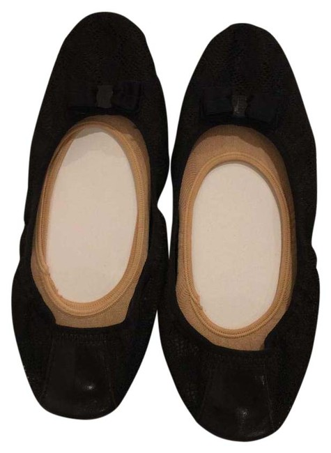 Item - Black Ballet Flat Pumps Size US 9 Regular (M, B)