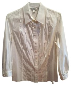 St. John Button Down Shirt White