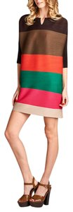Nabisplace Striped Mini Dress Tunic