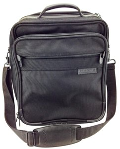 Briggs & Riley Laptop Overnight Shoulder Black Travel Bag