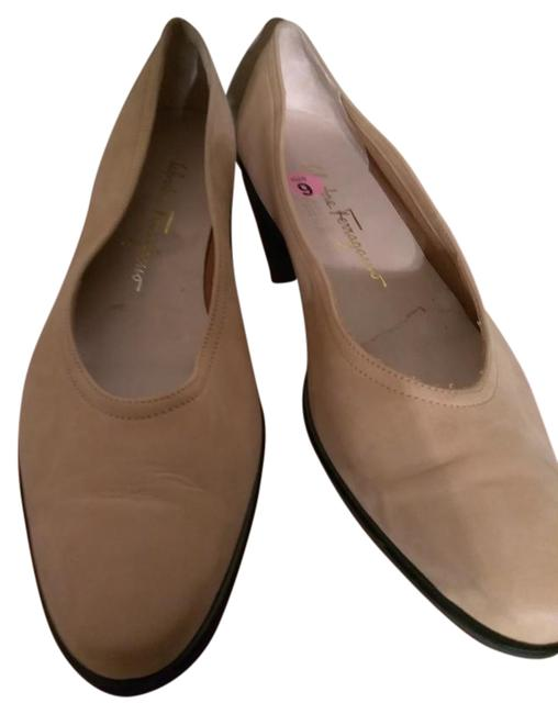 Item - Tan Made In Italy Suede Flats Pumps Size US 9 Narrow (Aa, N)