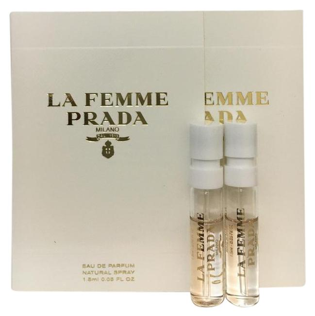 Item - White and Silver Packaging 2 X La Femme Eau De Parfum Edp Women Fragrance