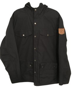 Fjällräven Water-resistant Comfortable Wind-resistant Spring Fall Black Jacket