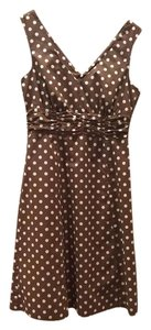 Boden short dress Brown White on Tradesy