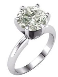 Moissanite 14k gold authentic 1.03ct ring
