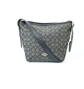 Coach Smoke Black Adjustable Shoulder Bag