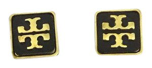 Tory Burch Tory Burch Square Enamel Earrings
