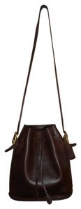 Coach Vintage Leather Tote in Brown