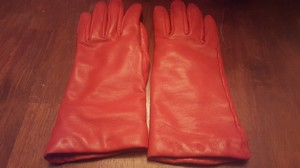 Wilsons Leather Red leather