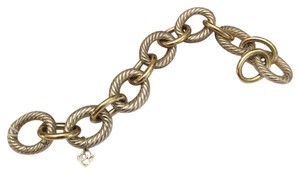 David Yurman David Yurman Gold and Silver Links