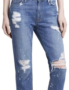 Hudson Jeans Relaxed Fit Jeans-Distressed