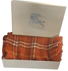 Burberry Burberry classic pattern scarf
