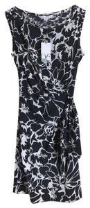Diane von Furstenberg short dress white/black on Tradesy
